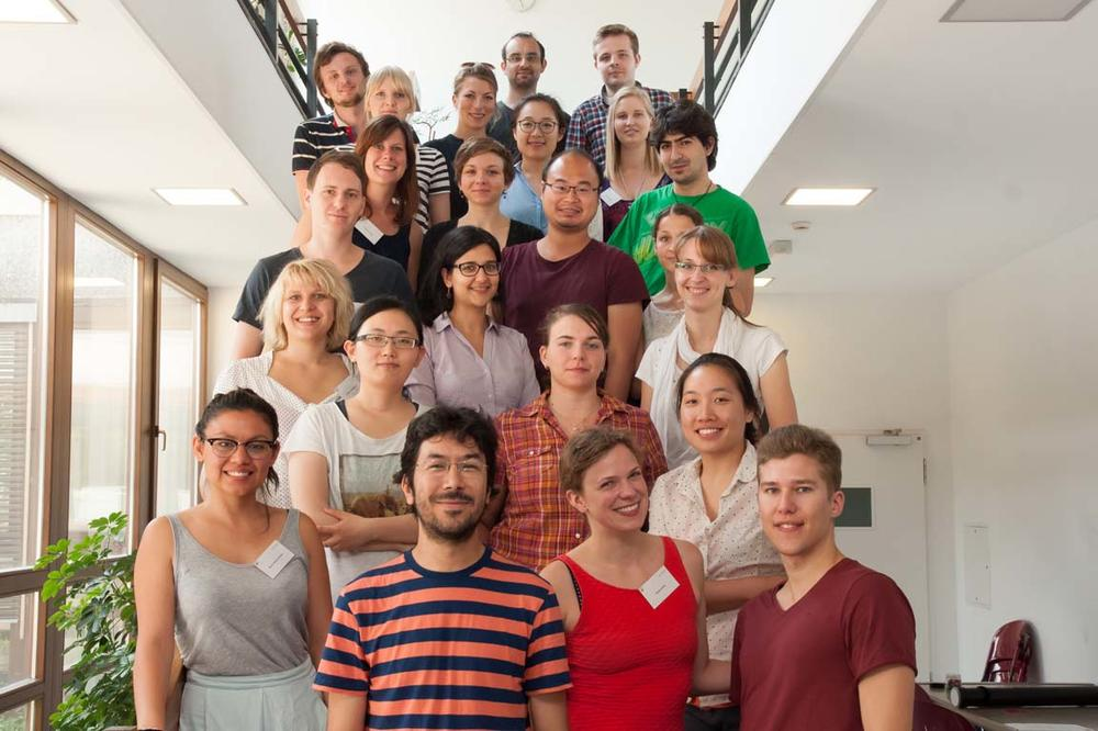 Participants of the SFB 958 Summer School 2015